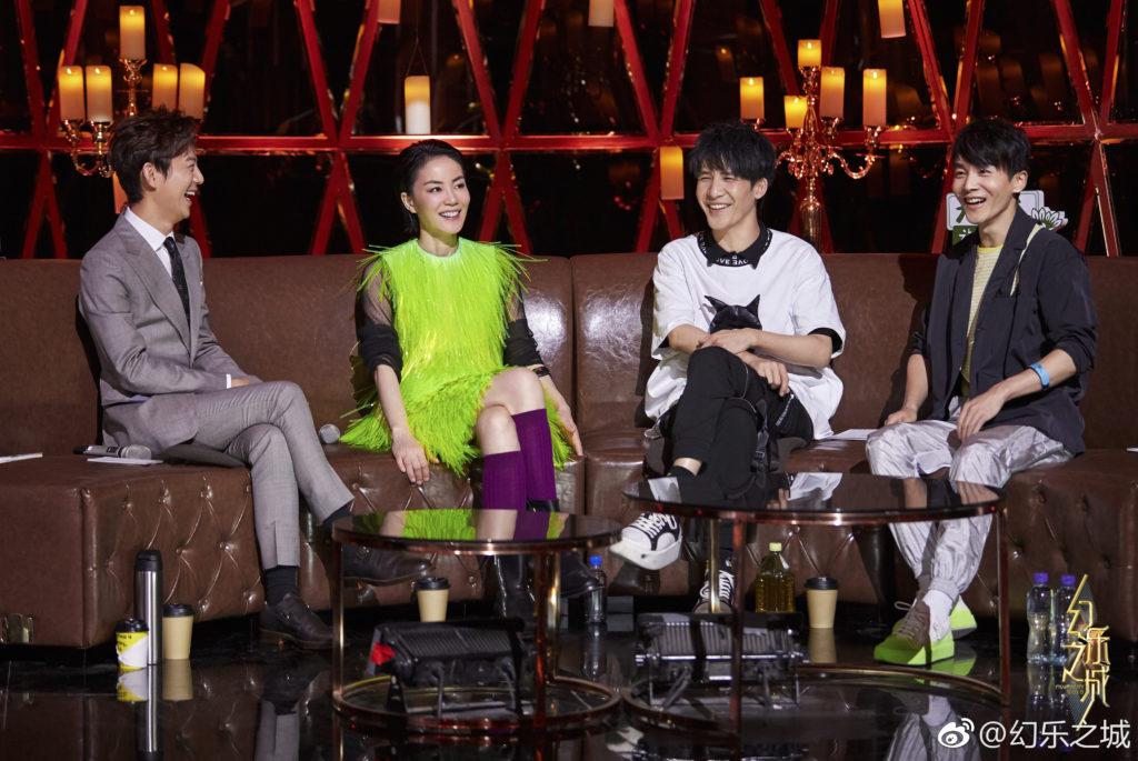 有傳吳謹言將出演《幻樂之城》,除了挑戰演技,更要考唱功。