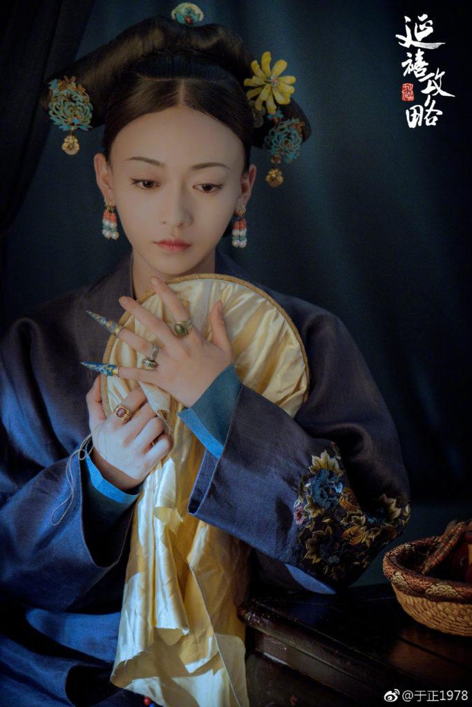 吳謹言憑《延禧》走紅,于正大讚她肯吃苦,而且演技好,是女一的材料。