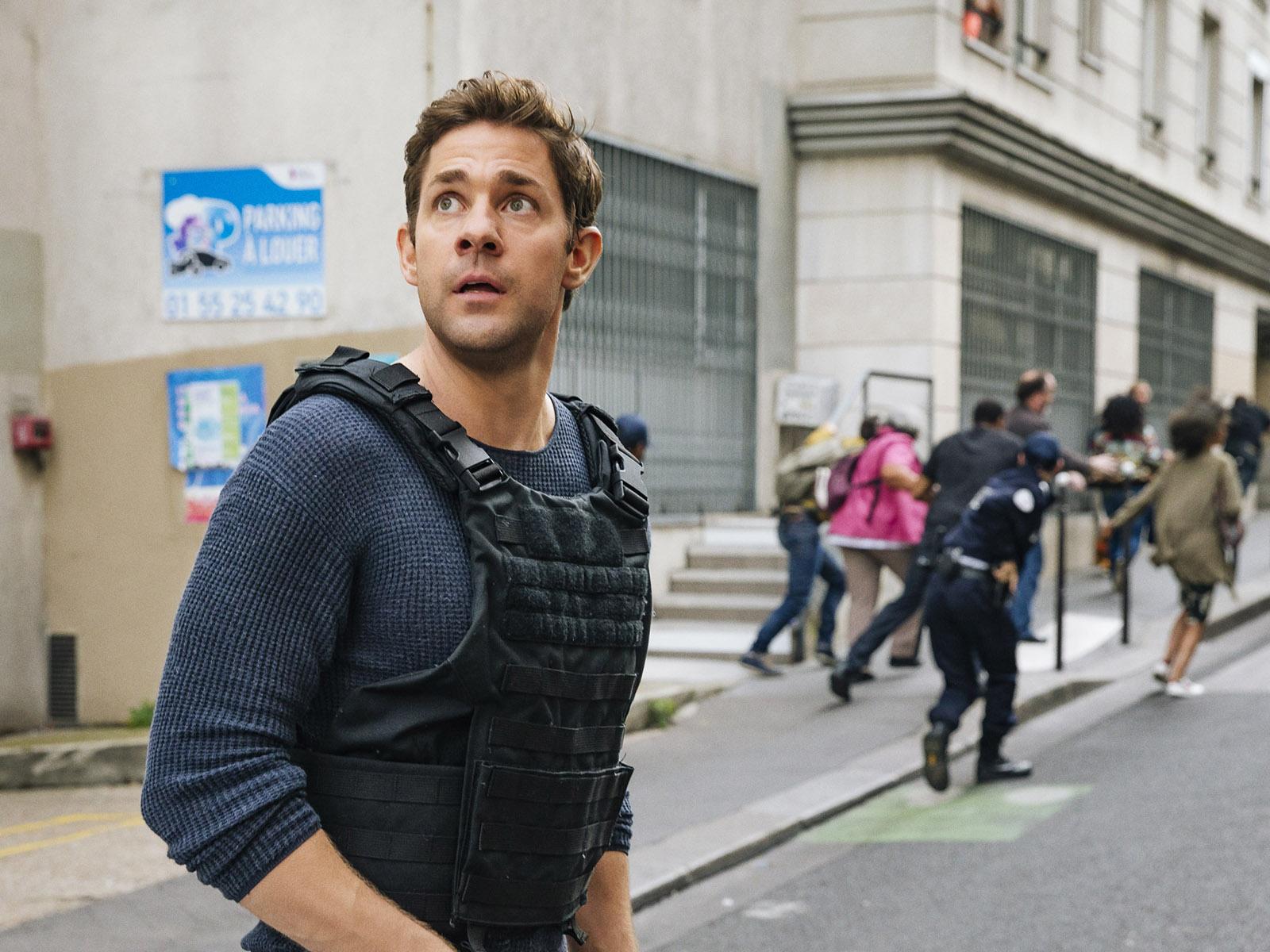 由尊卡辛斯基主演的《Tom Clancy's Jack Ryan》動作及爆破場面連場。