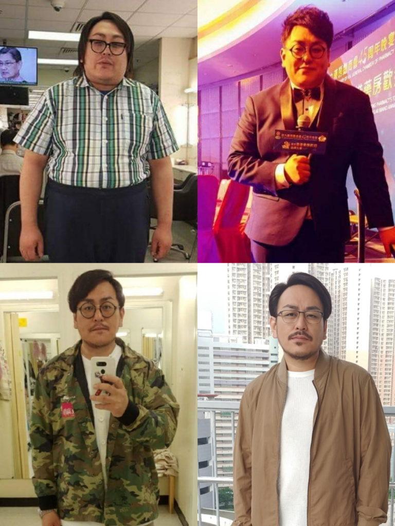 原本近三百磅的Gordon,以不足一年時間減去百多磅,變化之大,難怪很多人都認不到他。