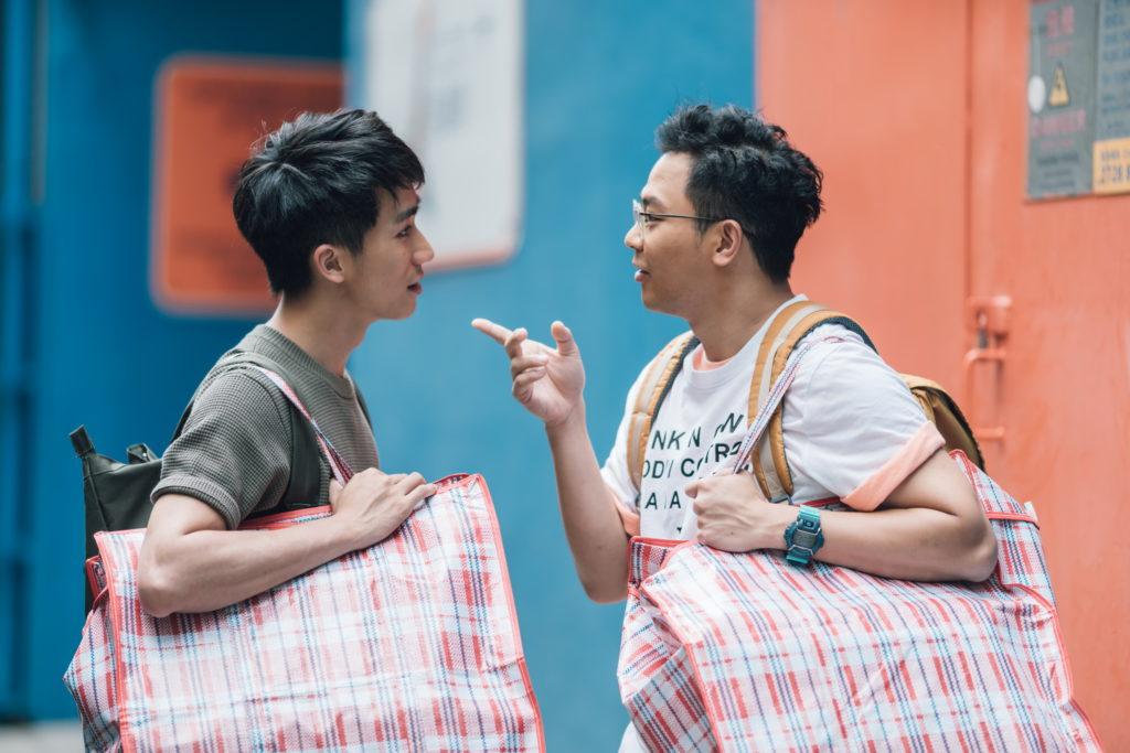 吳肇軒(左)憑《哪一天我們會飛》被觀眾認識,今次更與6號挑起大樑拍攝ViuTV新劇。