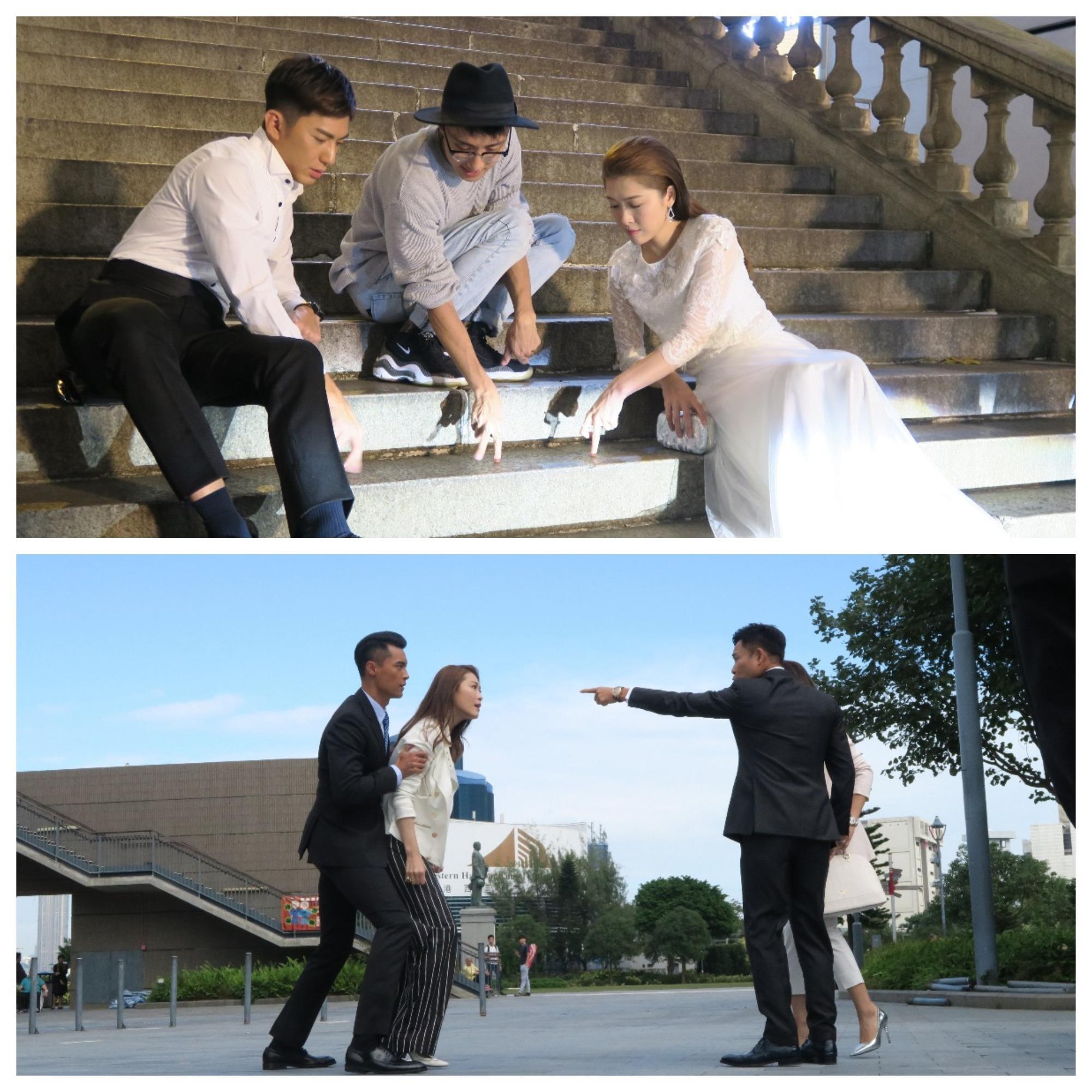 劇中周勵淇除了與郭晉安對敵外,與袁偉豪更上演一場姊弟戀。
