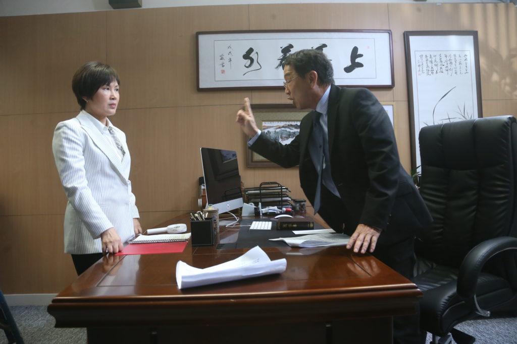 廖啟智與陳秀雯在劇中分別飾演正、副校長,二人的教育理念分歧,形成對立。