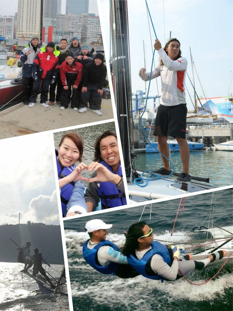 帆船運動將一班退役運動員組成新的團隊