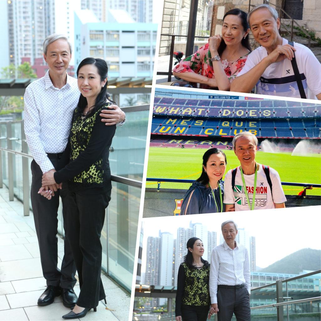陳榮峻與吳香倫婚後非常恩愛