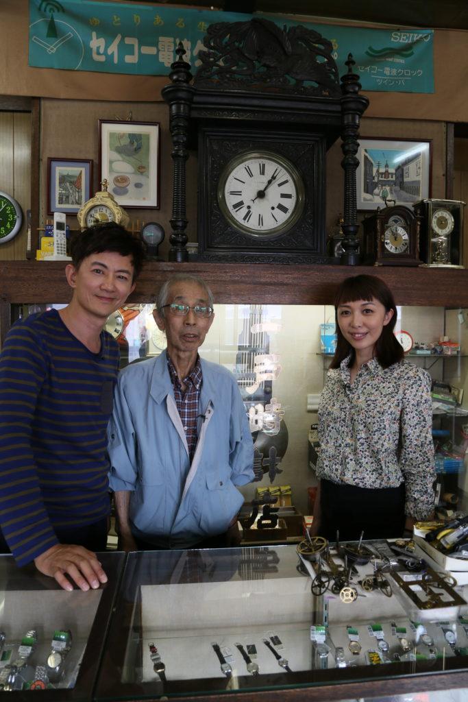 這是明治三十年的一戶時計店,營運至今,明治維新引入了西方時間觀念,令日本成為守時民族。