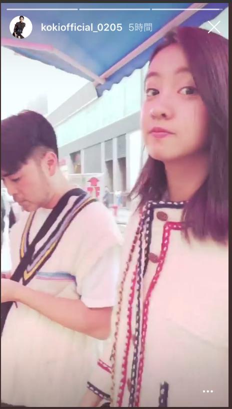 光希非常「貼地」,去到尖沙咀的港式小食店品嘗燒賣同雞蛋仔,三天香港之旅的報道非常正面。
