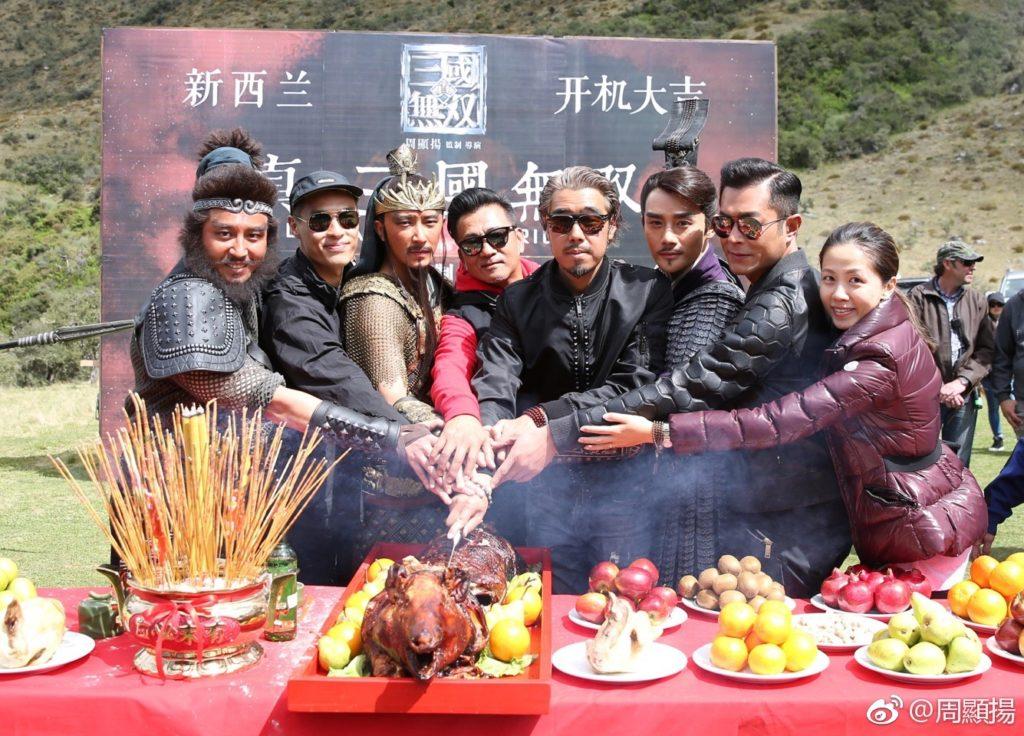 真人版電影集合了中、港、台、日、韓等地演員。