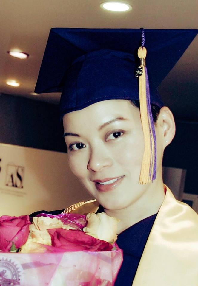 劉錦玲讀完大學準備讀碩士
