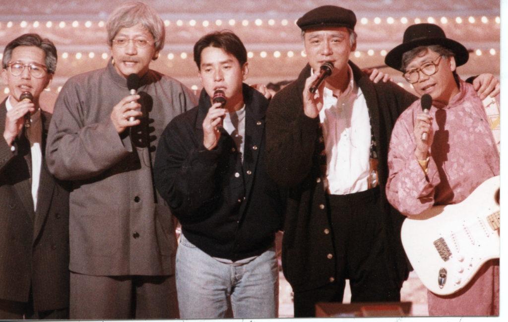 溫拿五虎友情千載不變,阿Bee開演唱會,他們會來撐場。