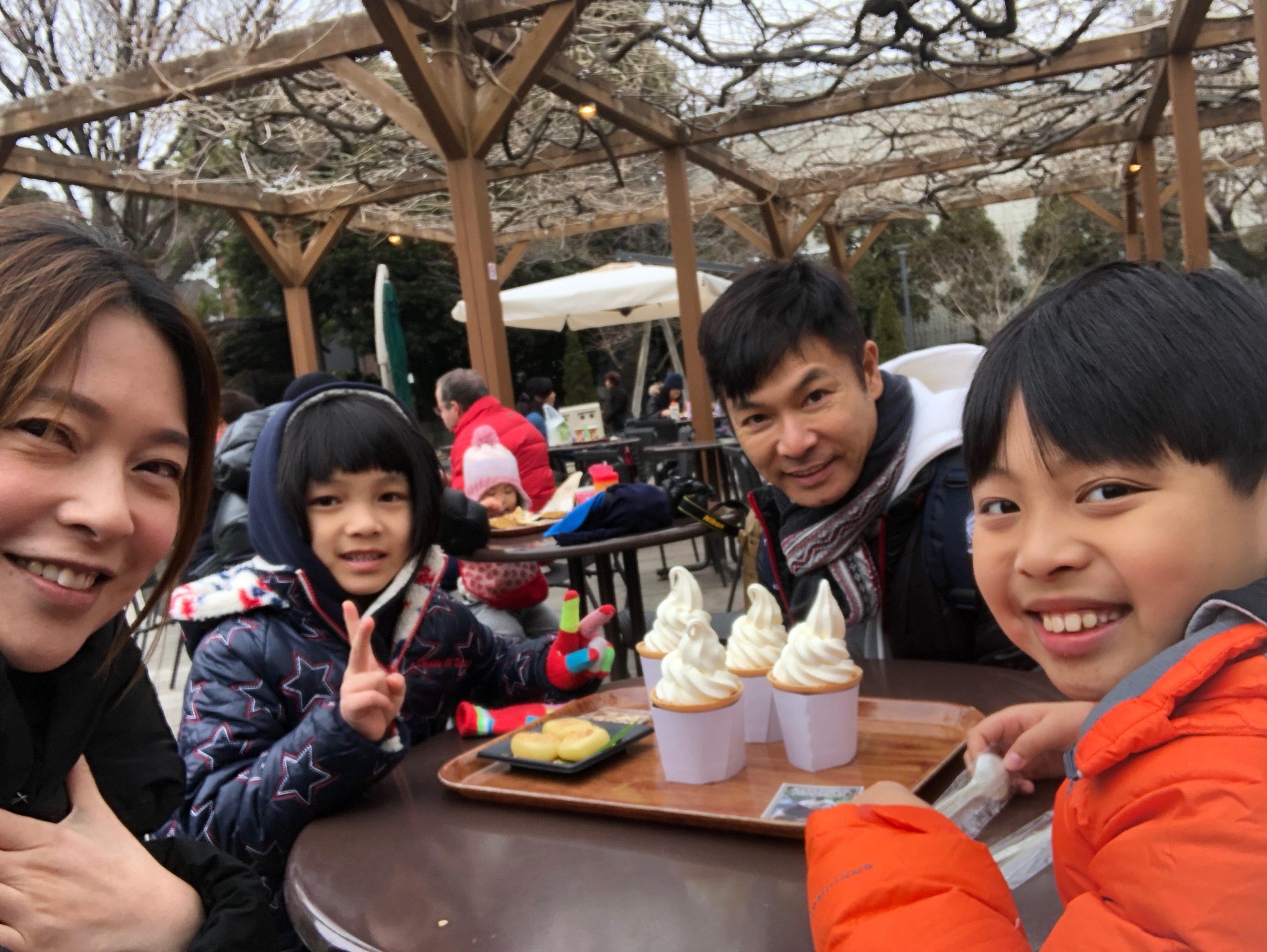 郭晉安說會安排時間,除工作外,會跟家人去旅行。
