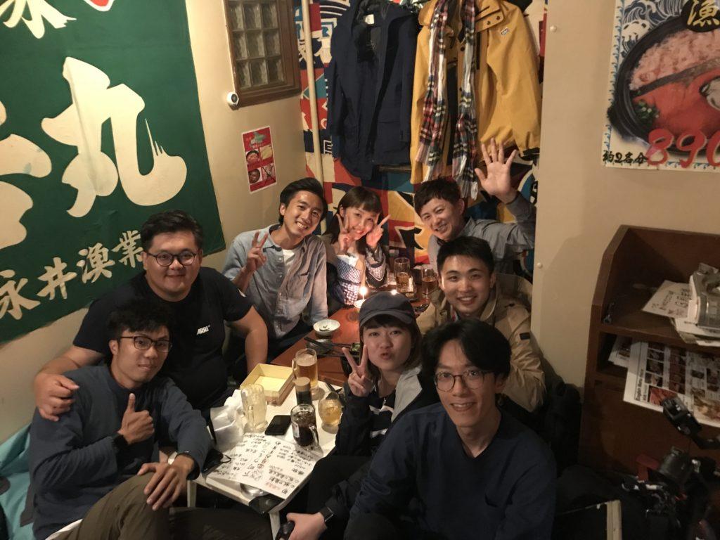 項明生與黃芳雯都是處女座生日,在日本拍攝之中,和製作隊在日本慶祝生日。