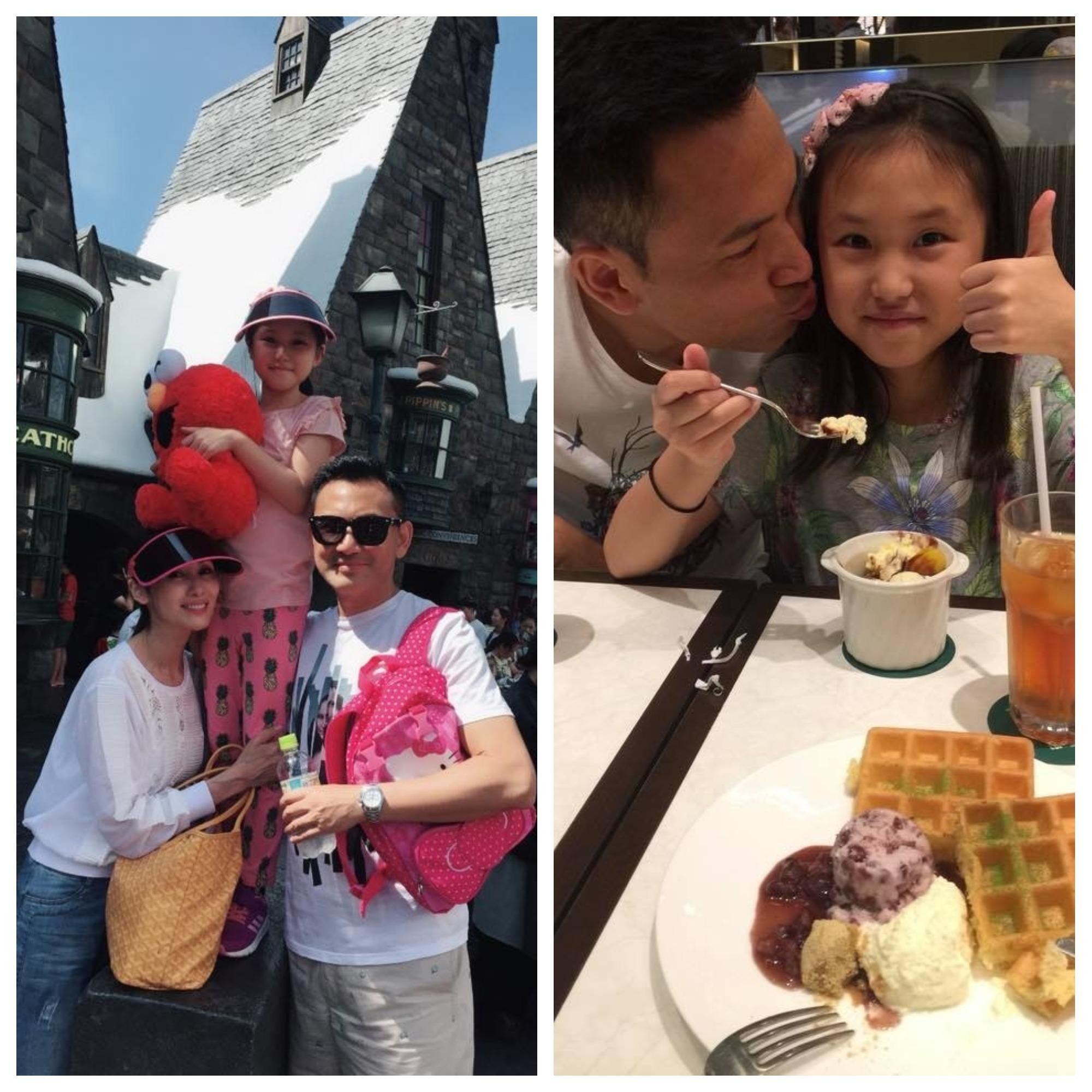 面對女兒的天真及無知,林文龍表示要好好珍惜。