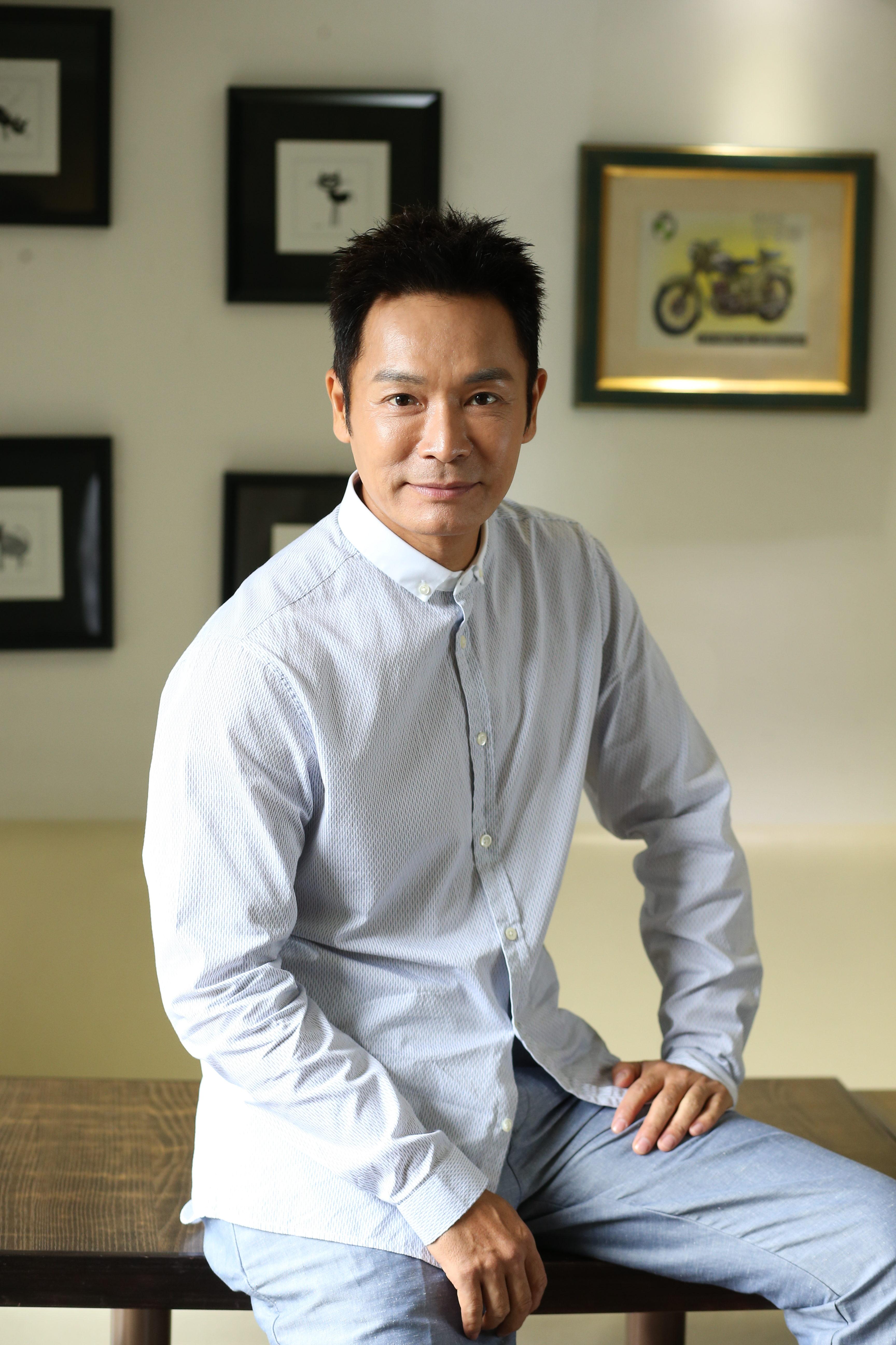 郭晉安表示就算是奸角,也要做一個觀眾喜歡的壞人。