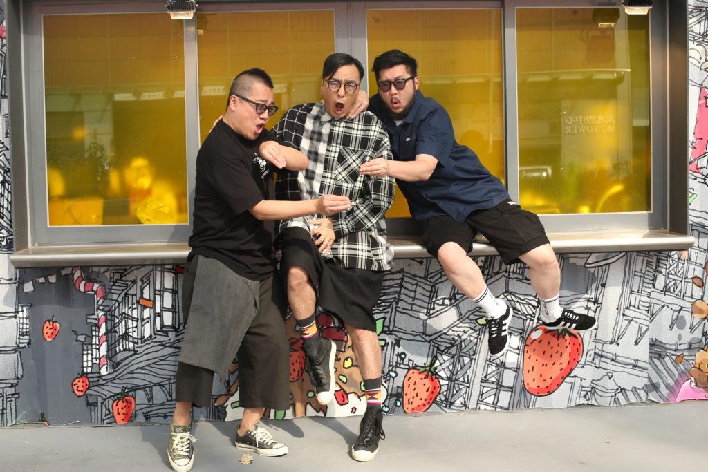 彭浩翔、鄒凱光及劉翁相識多年,私底下大家都愛說笑和搞氣氛。