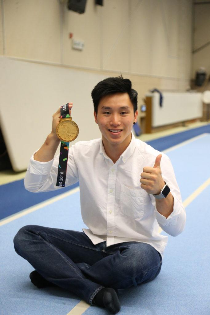石偉雄今屆亞運為香港羸得一面金牌