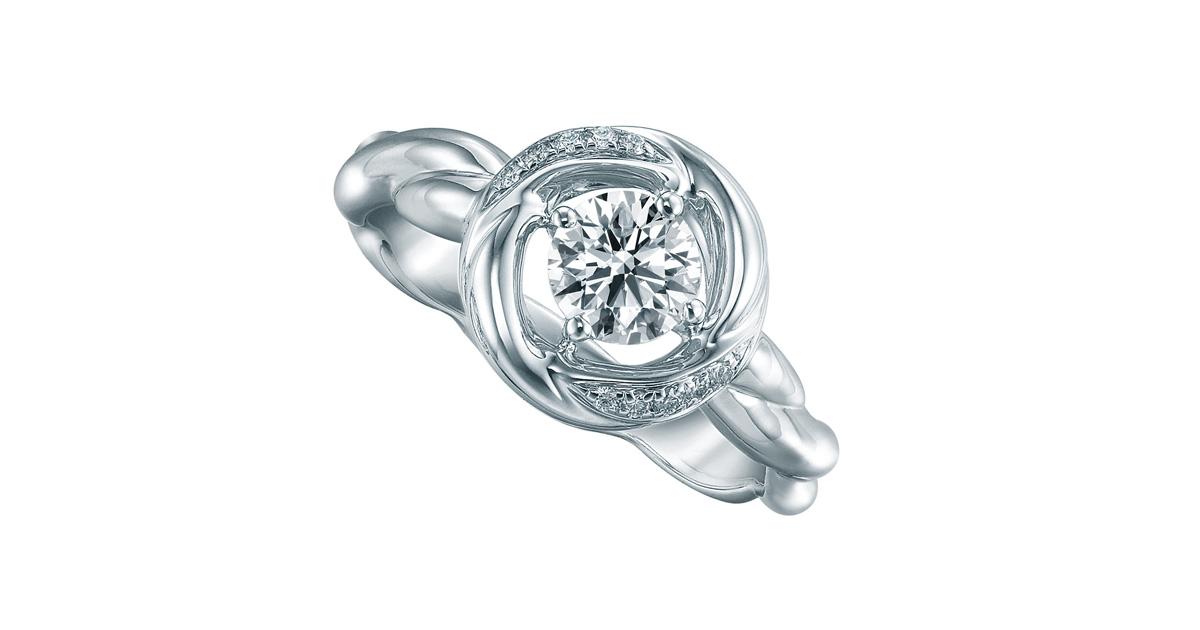 經典系列夢醉仙境指環,鑲有12顆共重0.584卡鑽石。中間一顆璀璨麗澤主鑽有如明亮星系的核心,被美鑽羣星環繞,戴上如走進仙女座星系,如夢似幻感覺動人。