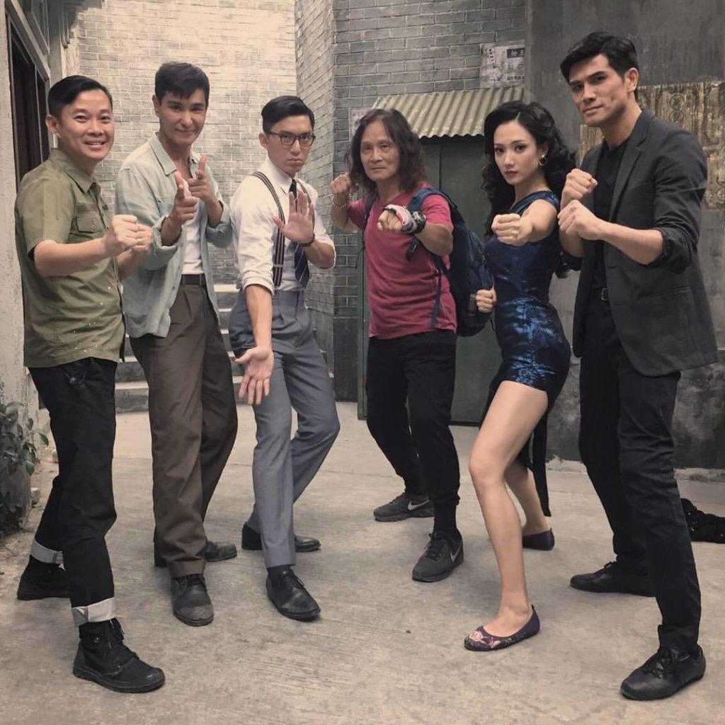 兩年前無綫劇《城寨英雄》成功,陳展鵬、伍允龍、王君馨等人氣上升。
