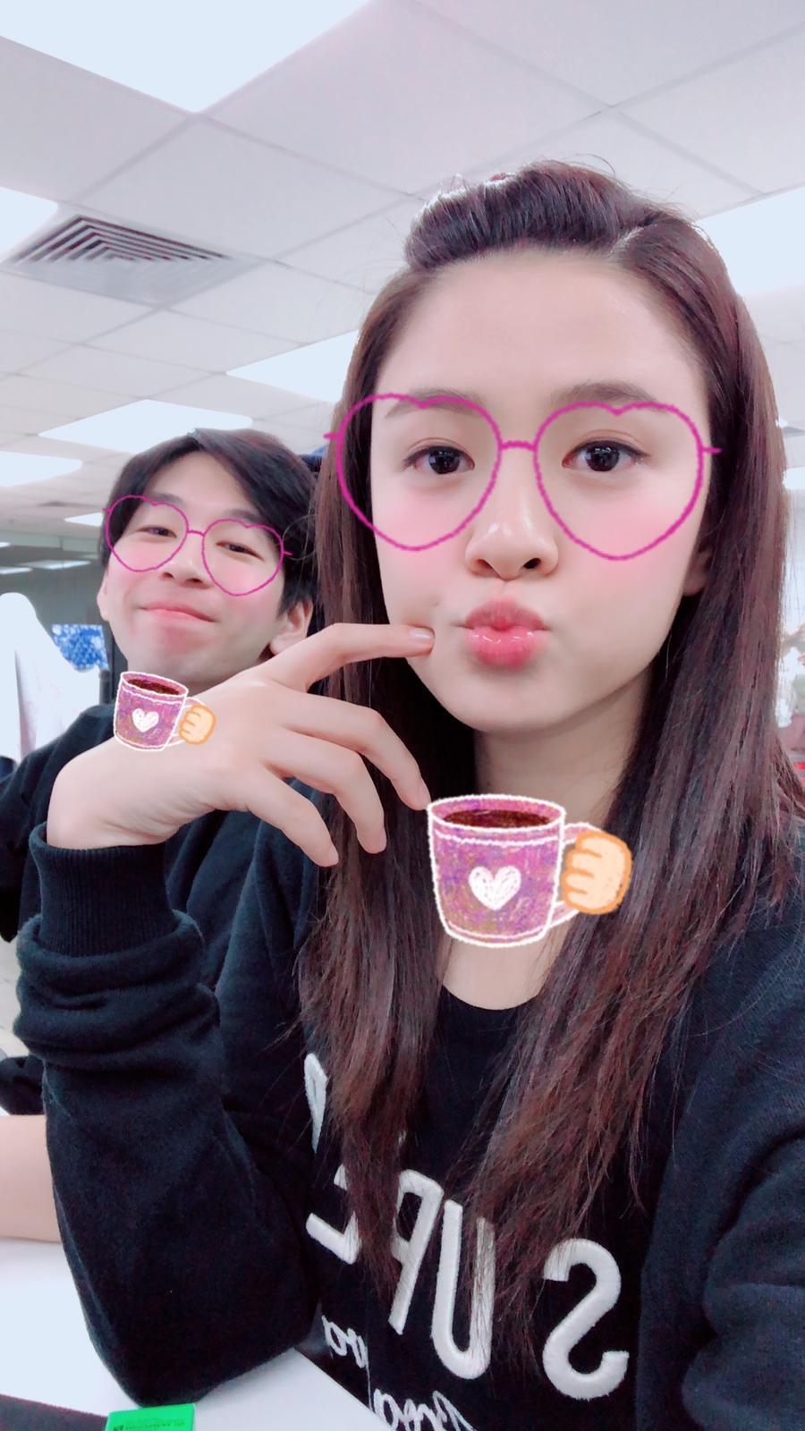 江嘉敏表示男友是她的人生老師,每一刻都在令她進步。