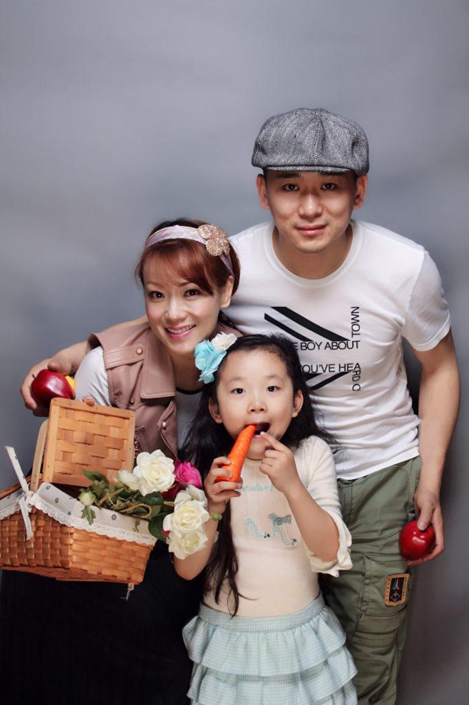 菲菲嫁到上海和老公非常恩愛
