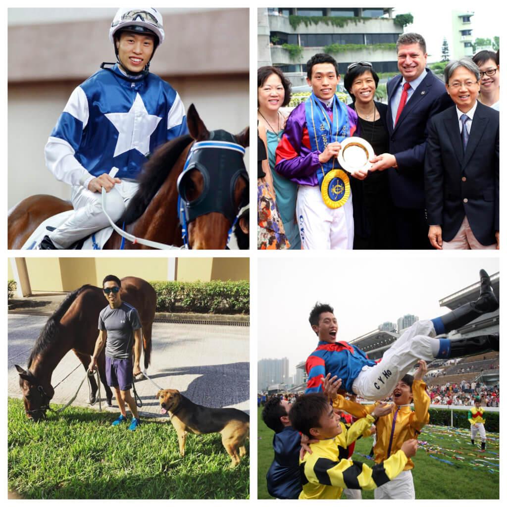 何澤澤十七歲投考見習騎師訓練學校,他的目標是做世界級騎師。