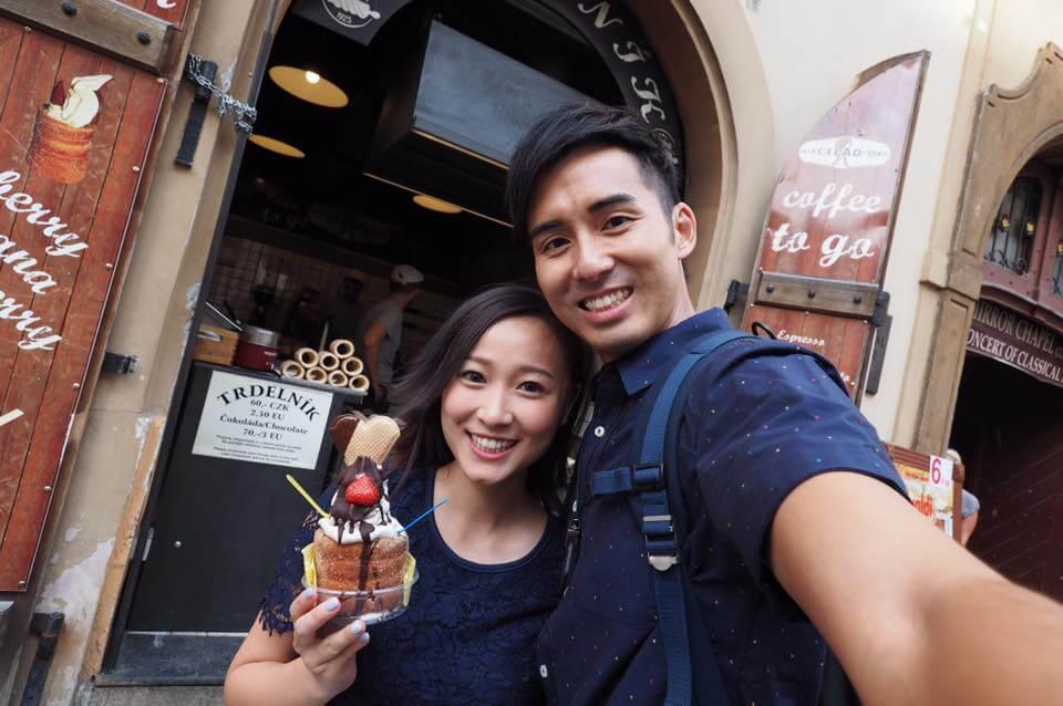 與男友鍾健威拍拖三年,感情穩定,彼此視對方為結婚對象。