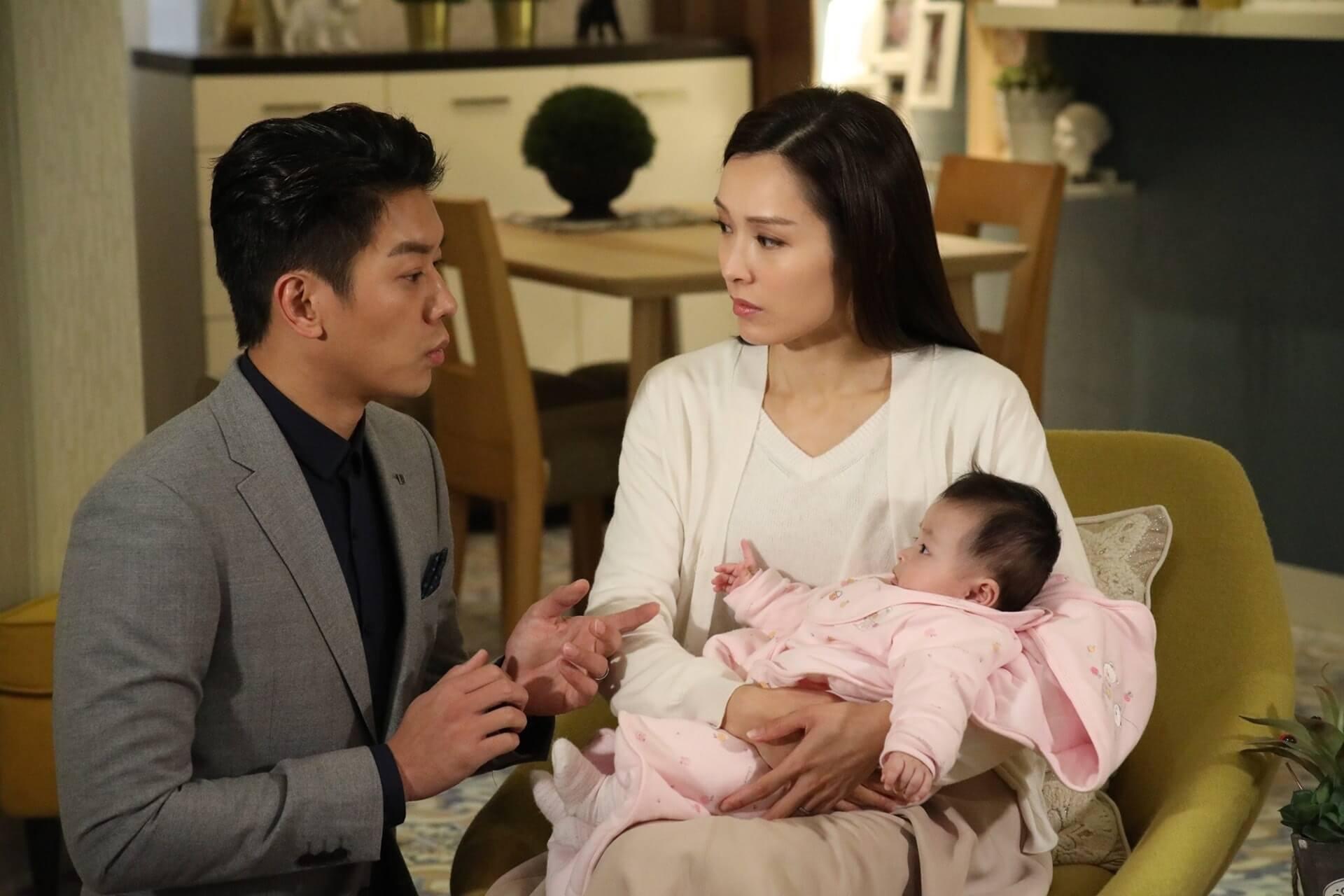 李佳芯在《BB來了》飾演新手媽媽,獲大量網民好評。