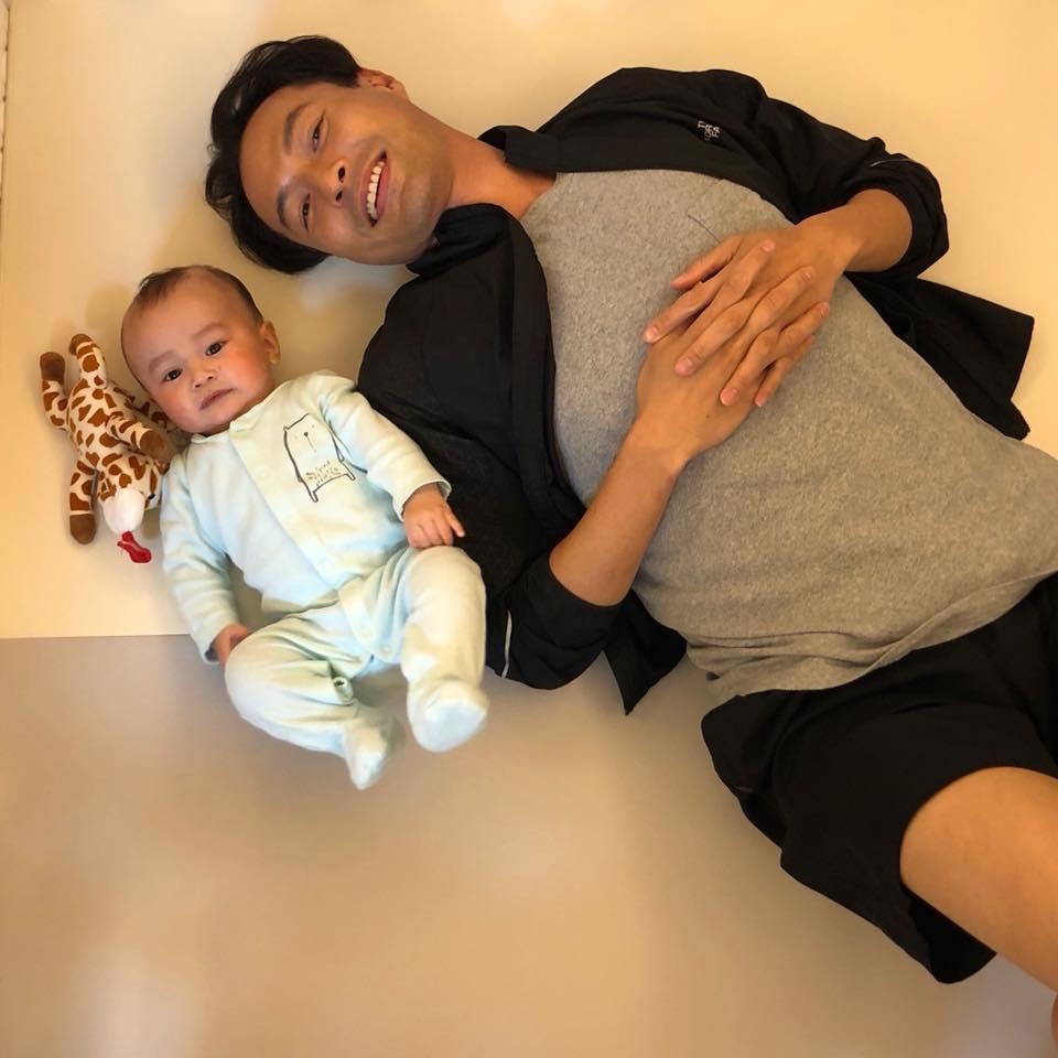 張達倫表示兒子出生後,他對工作變得更積極進取。