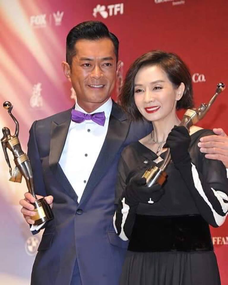 2018年香港電影金像獎,古天樂與毛舜筠成為影帝影后。