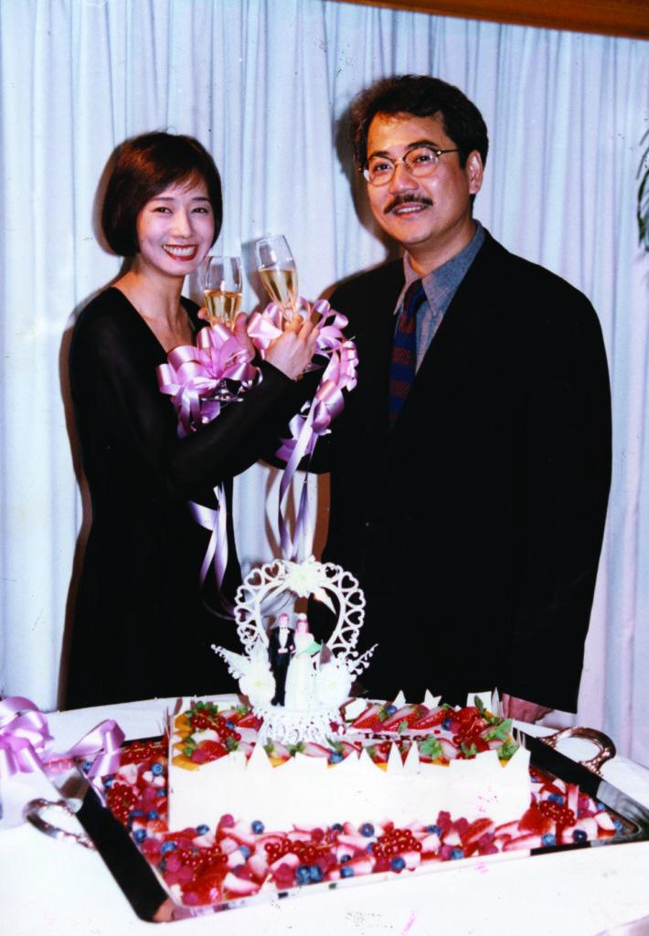 毛舜筠與丈夫區丁平九四年結婚