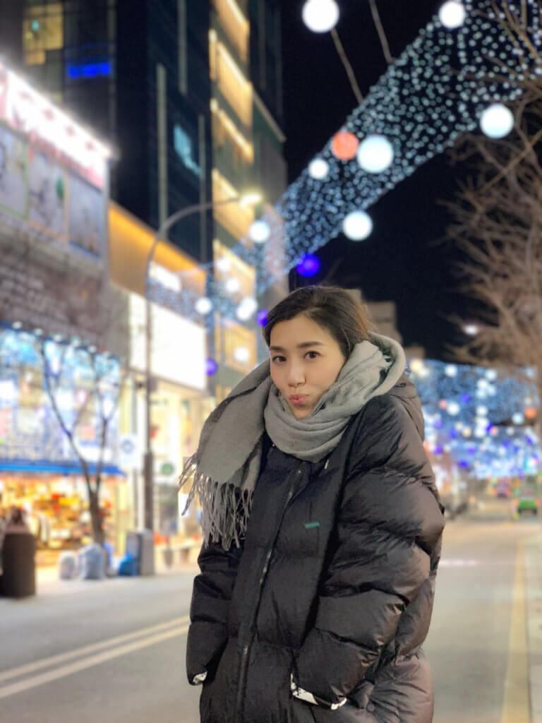 這幾天首爾天氣跌至零下十度,智雯說自己亦有點生病,但一定會捱到回港出席頒獎禮。