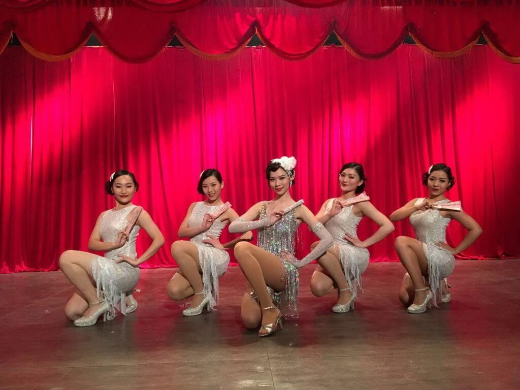 下星期播出重頭歌舞戲,楊秀惠特別參考瑪麗蓮夢露的經典作品。