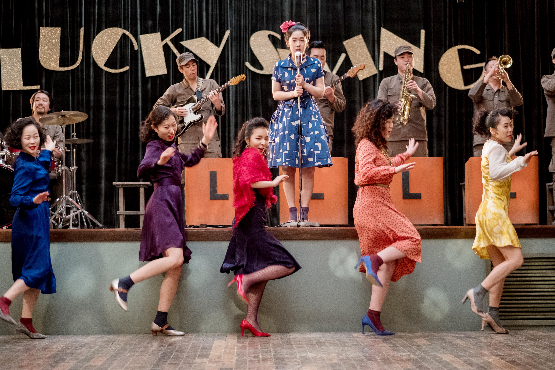 作為舞蹈電影,戲中的配角都要露兩手。