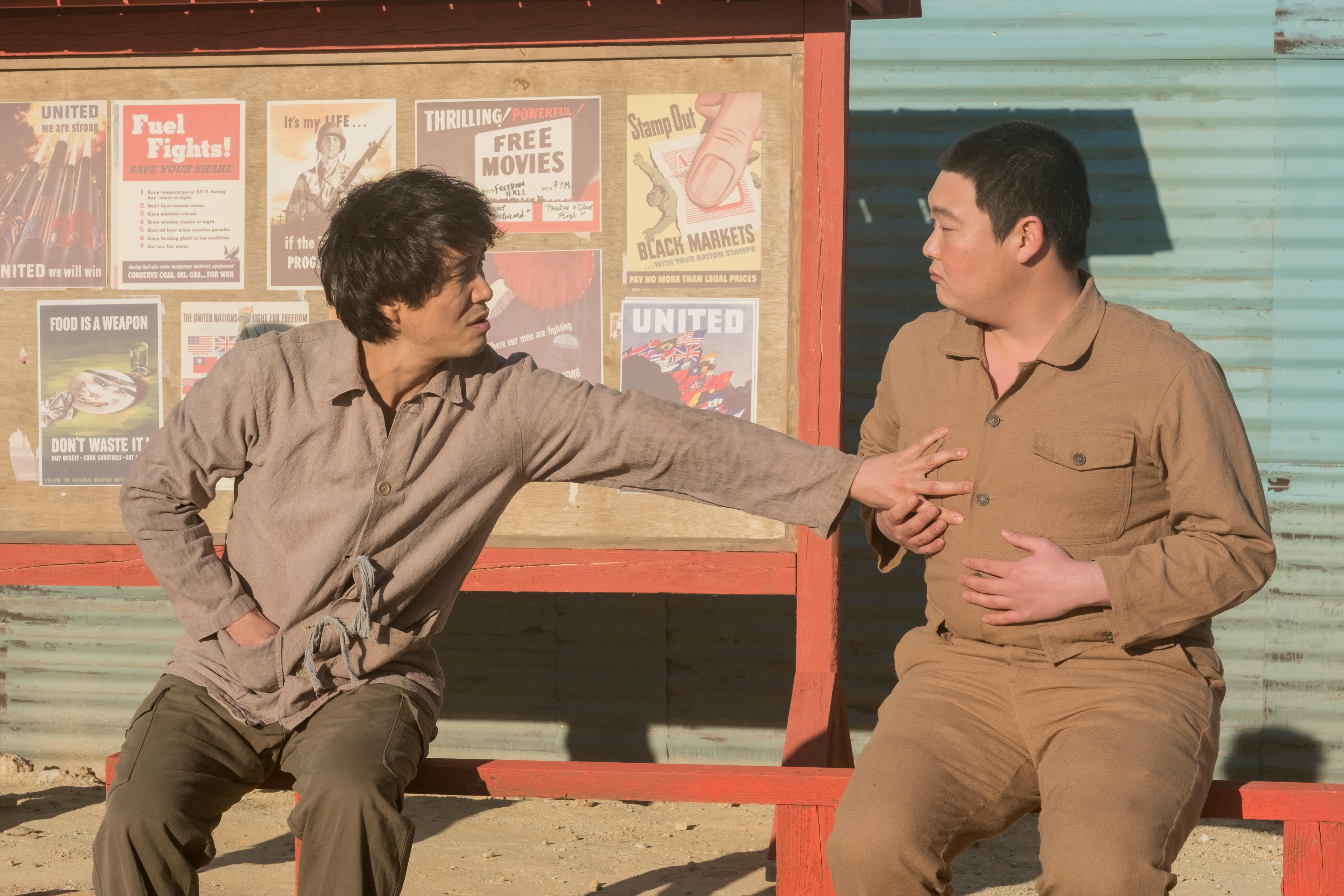 吳政世和金珉熩在戲中起到不俗的搞笑作用
