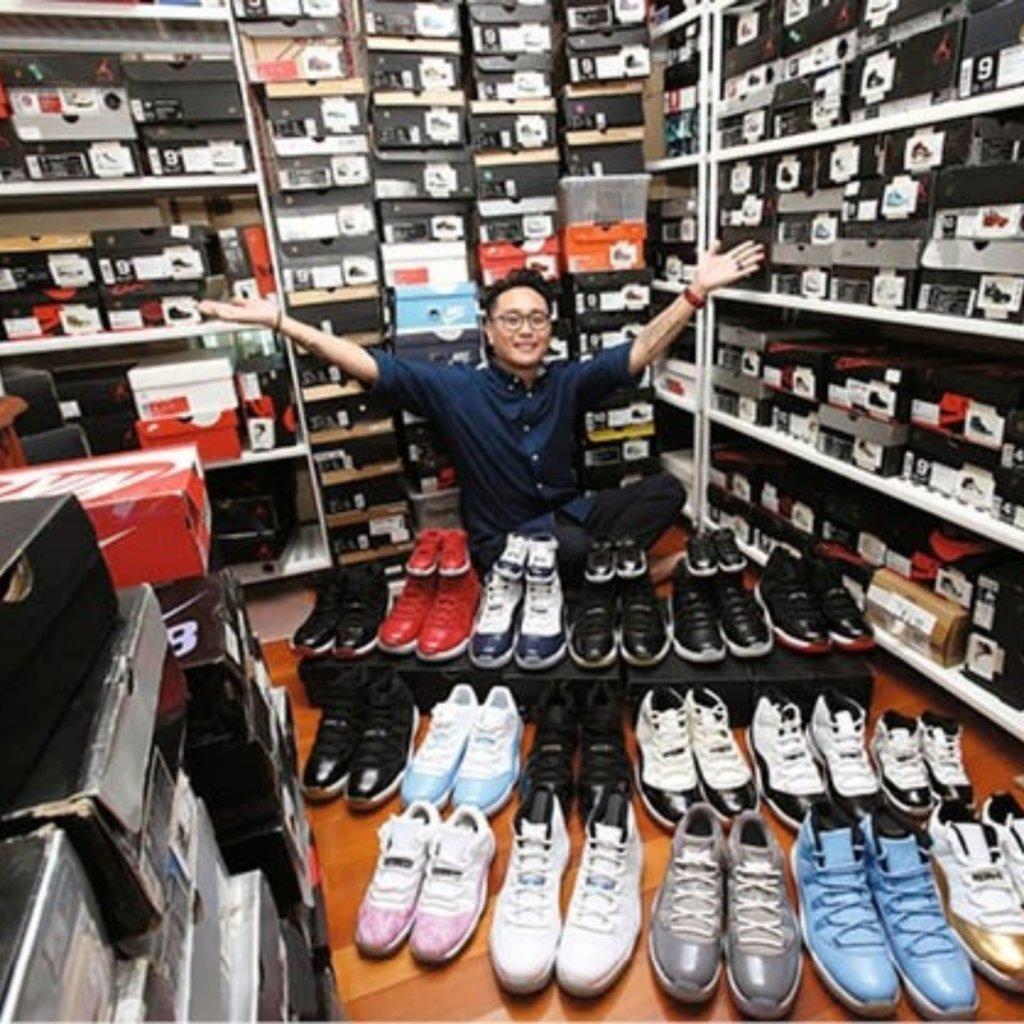 【家居專訪】「帶之尊」太子爺追求完美 莊名章珍藏250對全新波鞋