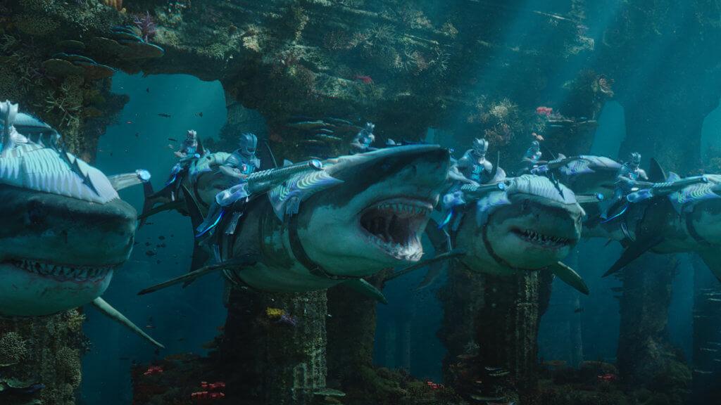 影片用IMAX規格拍攝,令觀眾更能感受到水中世界的磅礡氣勢。