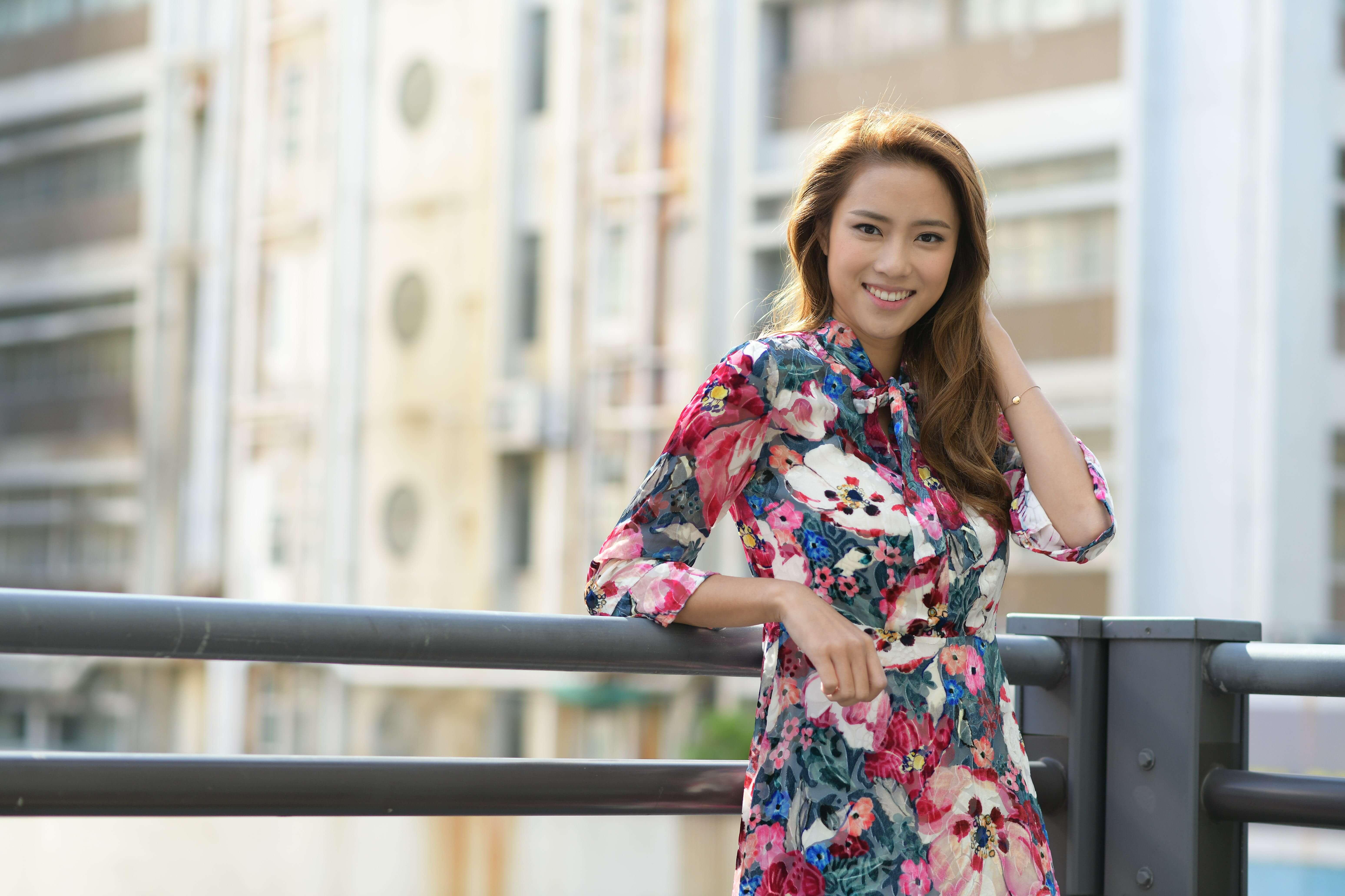 劉穎鏇首次拍劇已一嘗又打又演的角色,令她相當興奮。