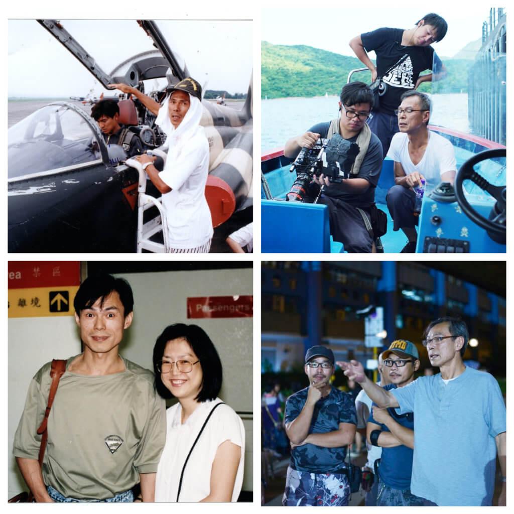 林嶺東對太太一往情深,他電影有極強的感染力。