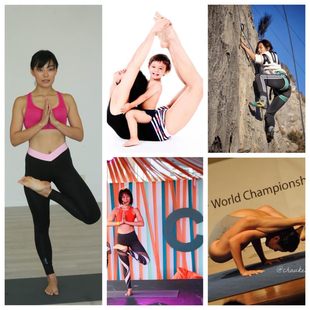秋琪不再參加比賽,她會以冠軍精神投入瑜伽教學工作。