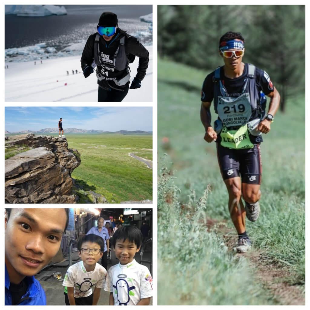 黃浩聰經常帶兒子去跑山