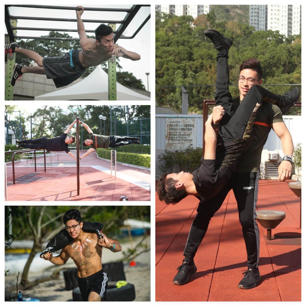 街頭健身令兩個年輕人找到人生目標