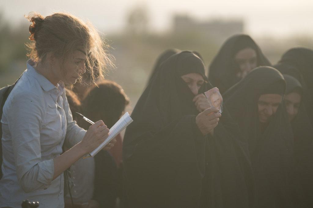 瑪麗為不少飽受戰火摧殘的無辜人民發聲