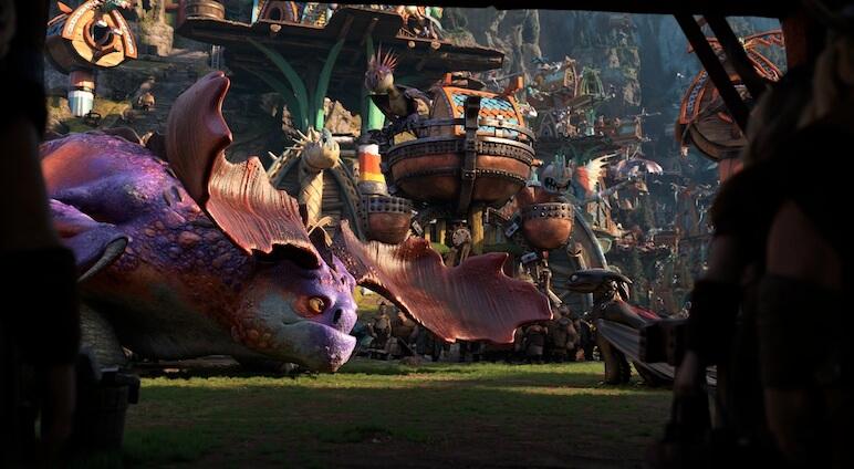 小島上龍族泛濫,陷入一片狂亂。