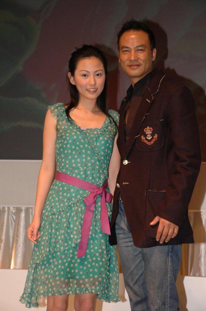 劉心悠第一次拍電影,是在《阿嫂》中與任達華等影帝合作。