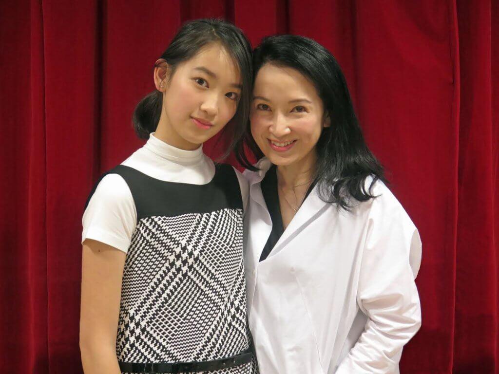 龔慈恩帶女兒愷鈴接觸演藝界和出席公開活動