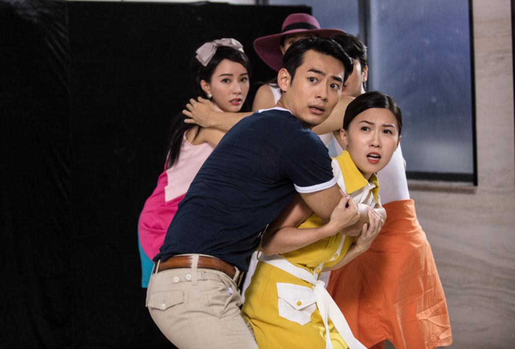 子涵與何浩文有不少對手戲,今次擔正演出,她坦言不怕被標籤是王晶女兒。
