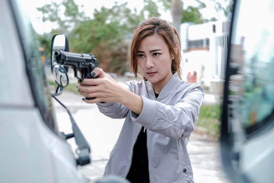朱智賢首次擔正,又要演又要打,令她倍感壓力。