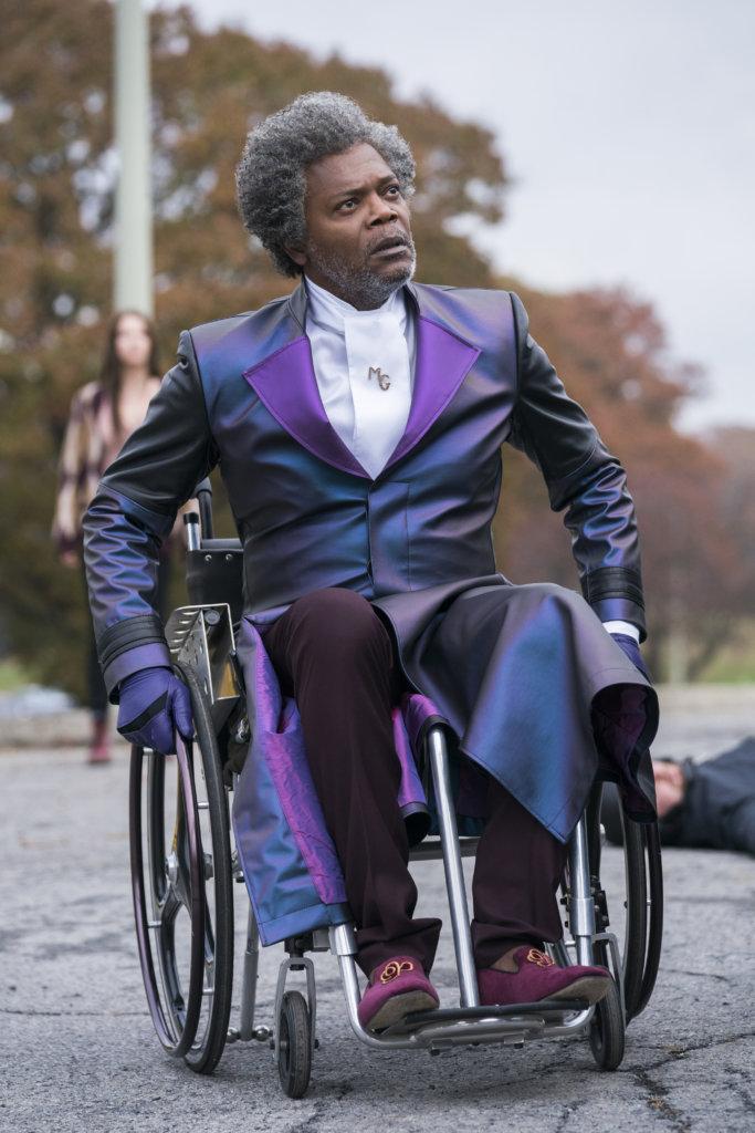 森姆積遜飾演的玻璃先生,是影響故事的最關鍵角色。