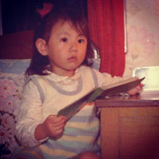 劉心悠童年照