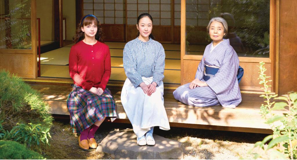 日本國寶級老牌演員樹木希林離世前最後演出,她首次跟黑木華及多部未華子合作。